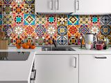 Tile Transfers – Wall Tile Stickers Special Talavera – a unique product by Wall-Decals on DaWanda