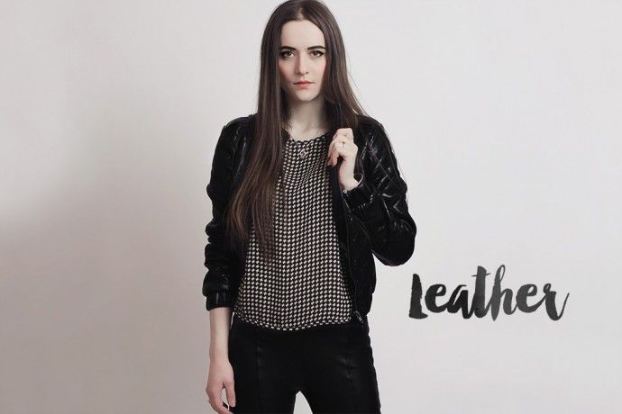 Leather Jacket and Leather Pants – Outfit #outfit