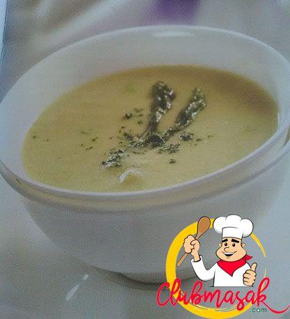 Resep Sup Krim Asparagus, Hidangan Organik Ala Resto, Club Masak