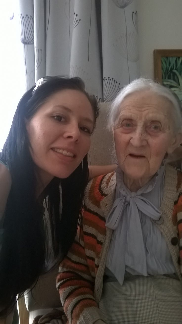 Me and my beautiful Nan <3 Worlds BEST Nan: she raised me, looked after me, supported me and cared. She was ALWAYS there for me and I am so Blessed to still have her.  :) xoxoxox