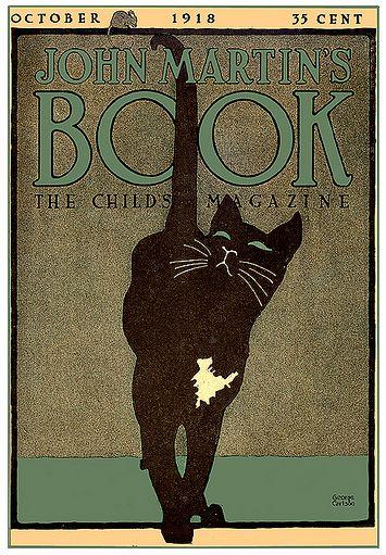 """John Martin's Book"" magazine cover - October, 1918"
