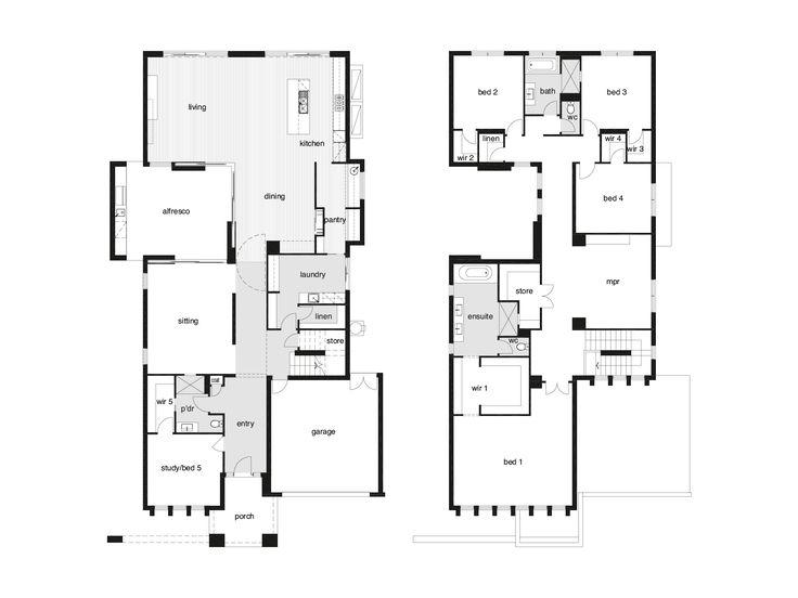 Belvedere - Glenview Homes - H&E WIR configuration?