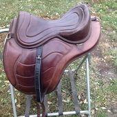 Dressage 17.5 Saddle for sale for sale in Fargo, North Dakota :: HorseClicks