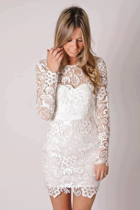 Aliexpress.com : Buy Factory Direct New Arrival Knee Length Short Lace Wedding Dress Reception Dress from Reliable short wedding dress suppliers on Terence Bridal Store $140.00