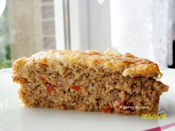 Мясная запеканка с овощами и рисом\гречей (Обед -60) - Страница 3 : Запеканки и омлеты