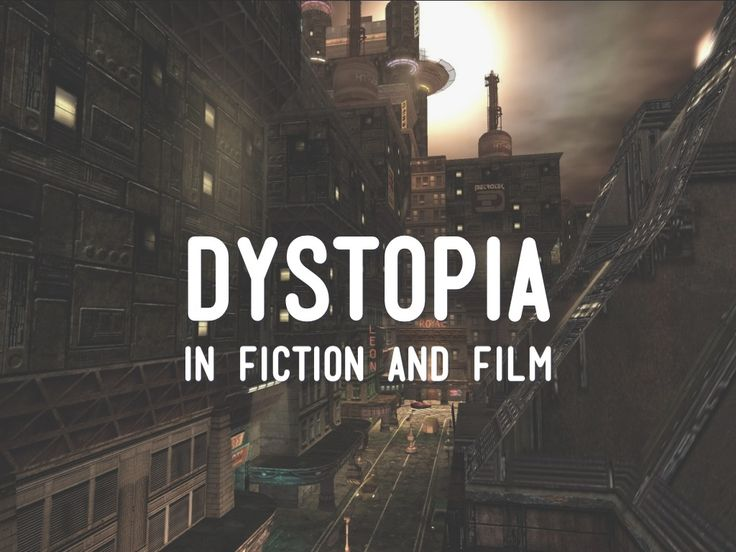 Dystopia in Fiction and Film - created with Haiku Deck by Guru @Simon Starr McKenzie