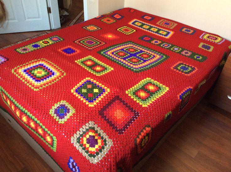 Cevahir's crochet blanket