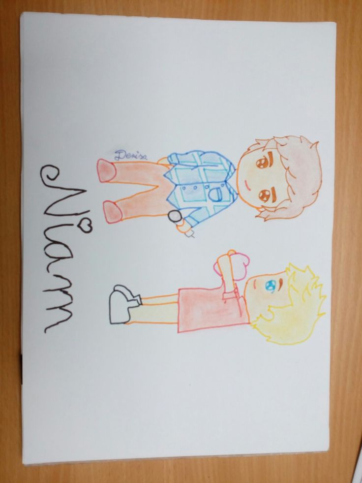 "Liam Payne and Niall Horan ""Niam"""