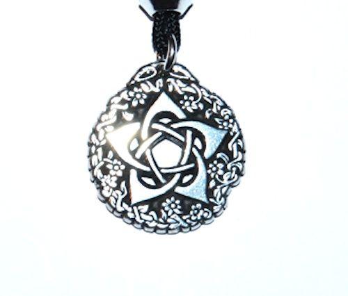 Pentacle of the Goddess Pendant – Celtic Pewter Jewellery