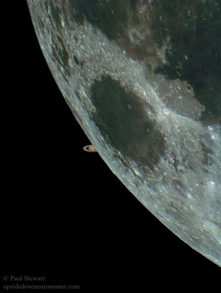 Saturno resurge tras la Luna | El navegante - Blog elcorreo.com
