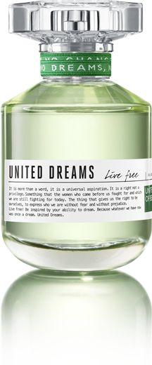 United Dreams Benetton Fragancias Mujer