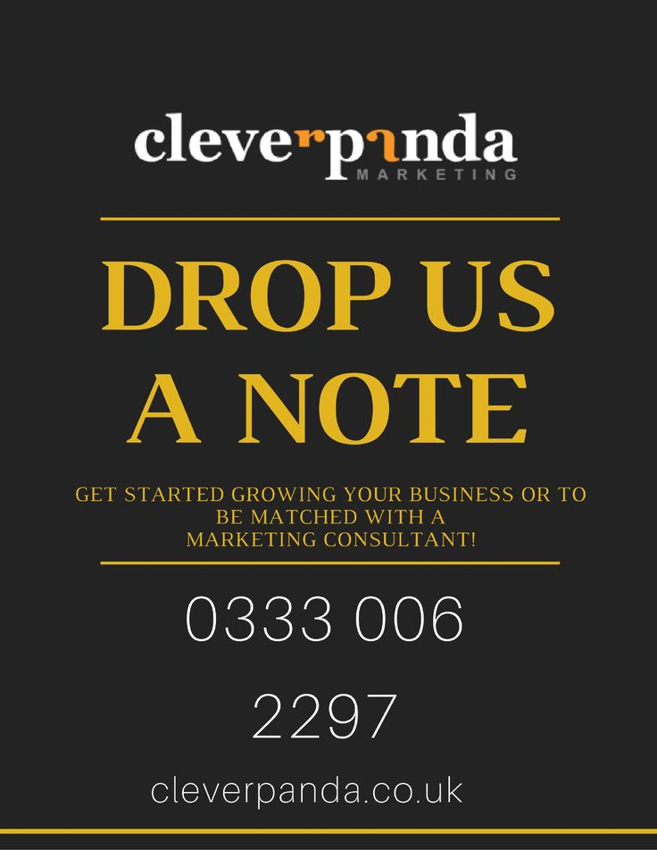 GET STARTED GROWING YOUR BUSINESS OR TO BE MATCHED WITH A MARKETING CONSULTANT! http://cleverpanda.co.uk/contact-us/  #marketingconsultantLondon #facebookadvertising #displayadvertising #emailmarketing #localsearchoptimization #reputationmanagement #retargeting #socialmediamarketing #webdesign