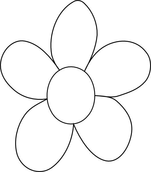 Flower Outlines Printable Flower Outline Printab...