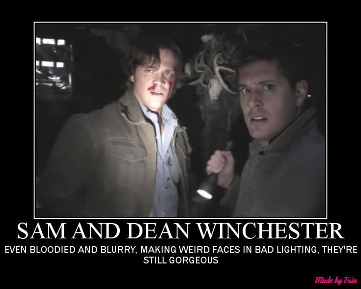 Funny Supernatural Posters | SUPERNATURAL SAM AND DEAN WINCHESTER GHOSTFACERS Graphics Code ...
