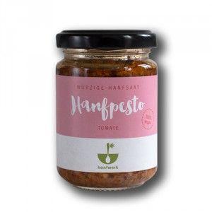 Hanfpesto Tomate von Hanfwerk | neu bei Maran Vegan | Der vegane Supermarkt in Wien