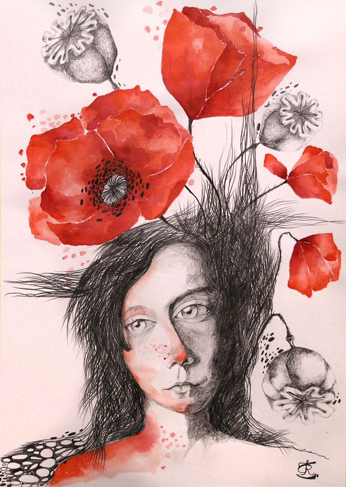 Poppies With Freckles