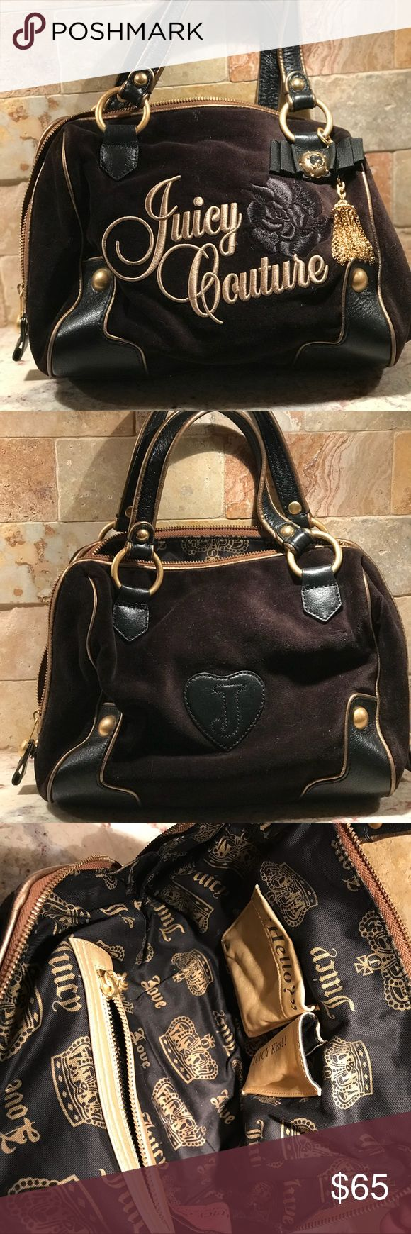 Juicy Couture handbag Never used. 65 obo. Juicy Couture Bags Mini Bags