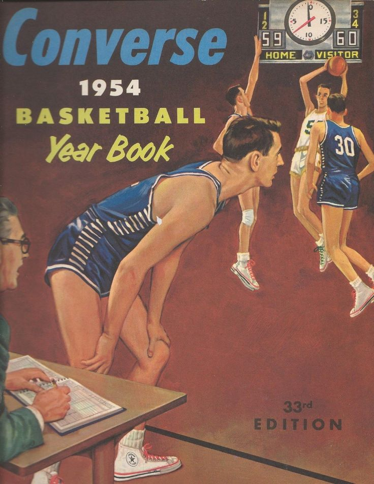 1954 Converse Basketball Yearbook