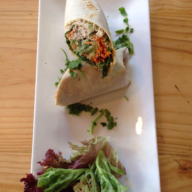 #GlutenFree health wrap - tasty & nutritious