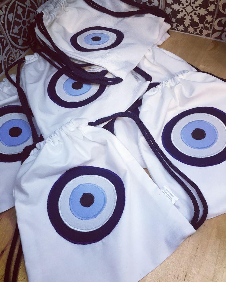 evileye backpacks by cottonprince.gr