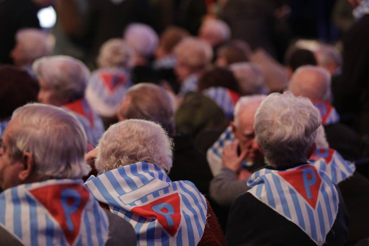 70th anniverary of the liberation of Auschwitz. Almost 300 Auschwitz Survivors were present during the commemoration event.