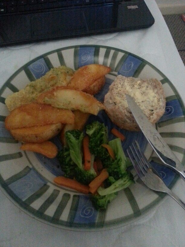 Fish and wedges. .x