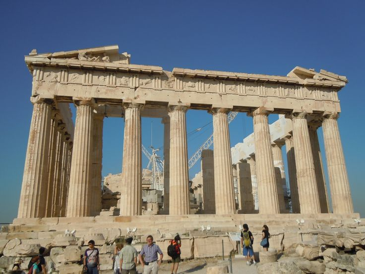 Traveling is something I really enjoy doing. To see new places like the acropolis and also to learn about a new culture.