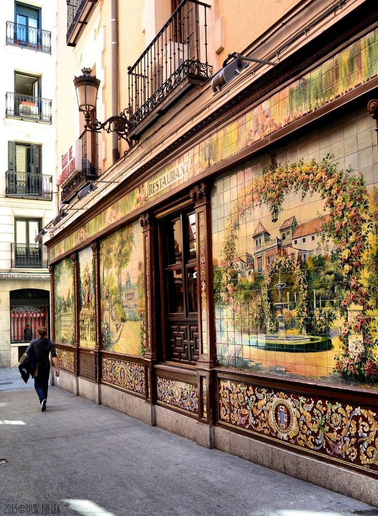 Restaurante Villa Rosa, Madrid