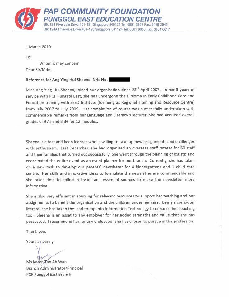 sample letter of recommendation for teacher samplebusinessresume