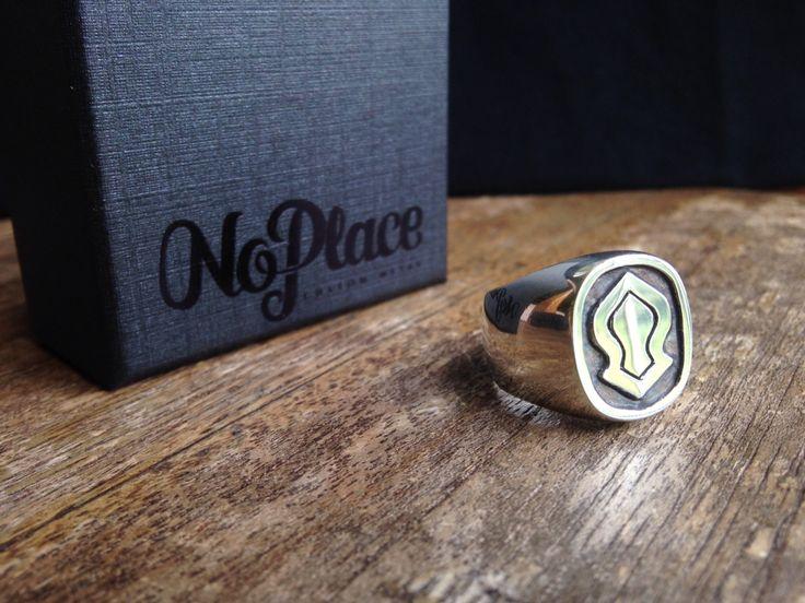 Custom Nalain ring in .925 Silver