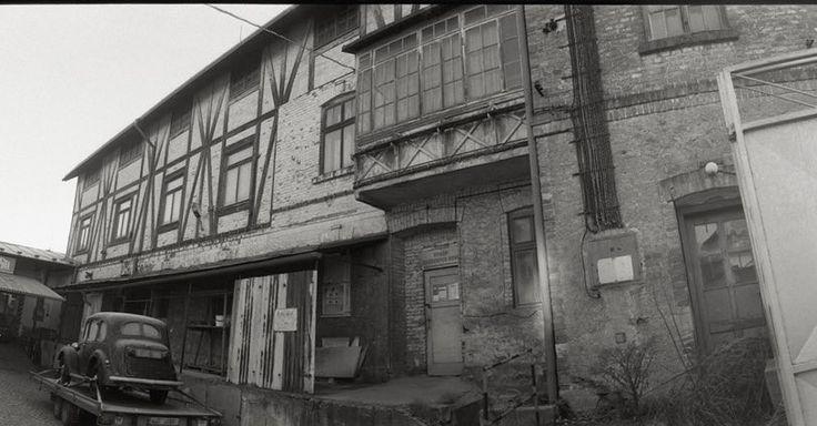 One of my series Trebic my #hometown panoramic. #filmisnotdead  Jedna ze série #Třebíč panoramatická 2016. Ten dům mě fascinuje. #35mm #film #bw #analog #raw #scan #foma #morava #czech #horizon  #zoomit