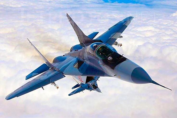 Polish Air Force MiG-29 Fulcrums.