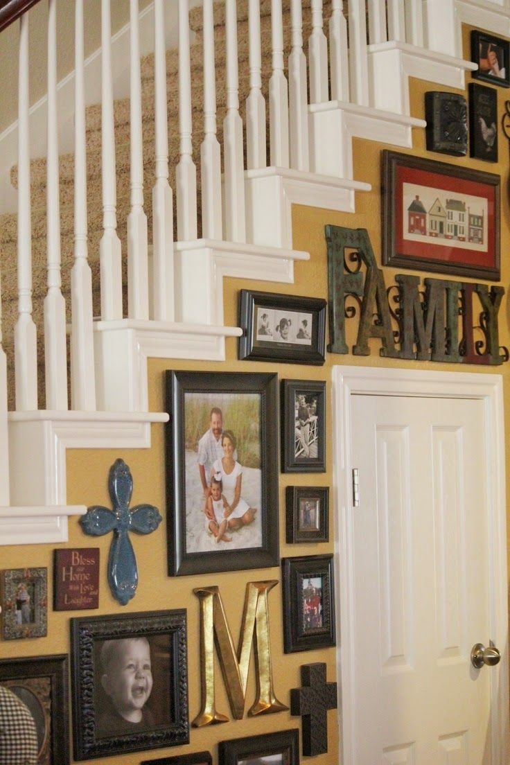 Best 50 Best Staircase Wall Decorating Ideas Images On 400 x 300