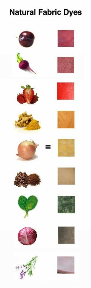 Natural Dyes by Olivia Taylor