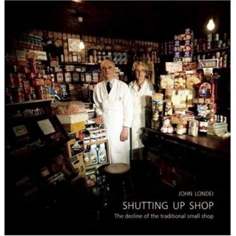 Shutting up Shop, a wonderful book I bought one Christmas for my husband, credit to John Londei and the storekeepers and their wonderful tales - if only we could bring these wonderful, traditional, small shops back....