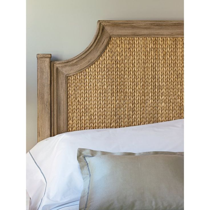American-made home furnishings create the Coastal Living Resort Water Meadow Woven Bed. Melding a more tropical island vibe with the sun-bleached charm of the coast state-side, the Water Meadow Woven Bed doesn't shy away from its surf inspired roots. The headboard and frame combine woven water hyacinth with a wood frame featuring natural finish for a final product that is as relaxing as it is beautiful. No matter where you are in the world, you will hear the sounds of the waves when you r...