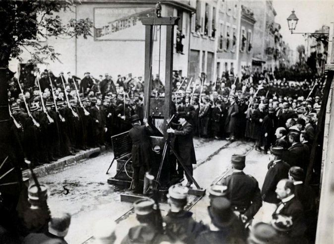 June 17, 1939 – Last public guillotining in France - Eugen Weidmann is guillotined