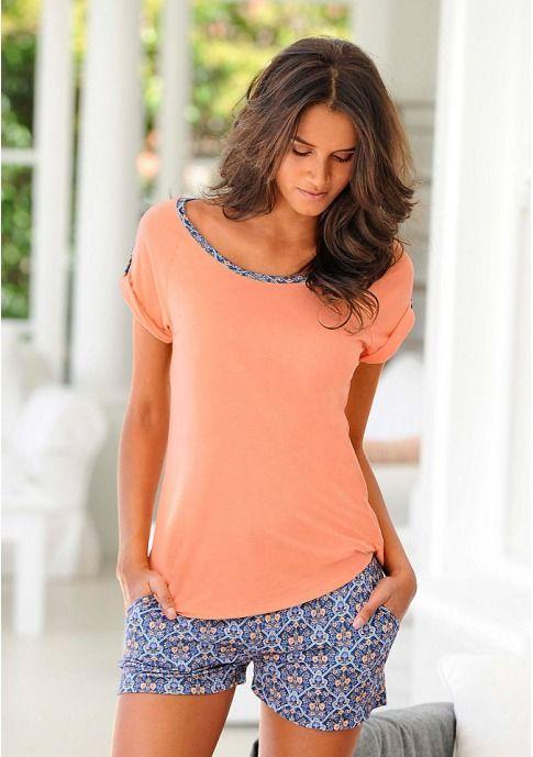 Женщинам - Одежда - Белье и одежда для дома - Пижамы: Пижама с шортами Marie Claire - Marie Claire // Витрина брендов: Женская одежда, мужская одежда в интернете