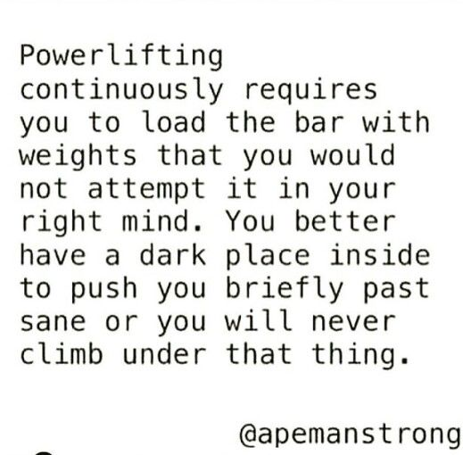 Powerlifters logic