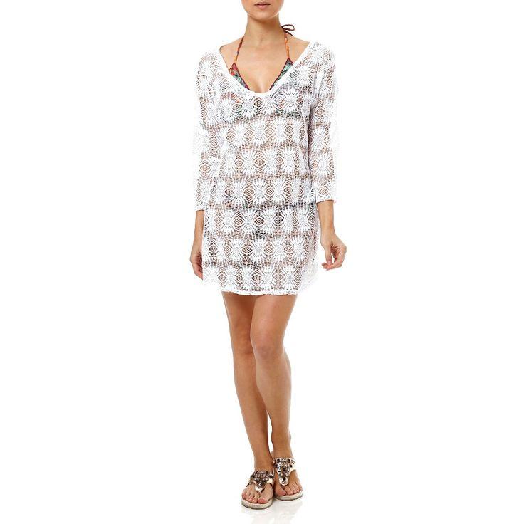 Compre online: http://www.lojaspompeia.com/saida-de-praia-feminina-longa-de-renda-63119/p