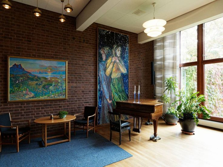 Norwegian Embassy, Stockholm by Architect Knut Knutsen