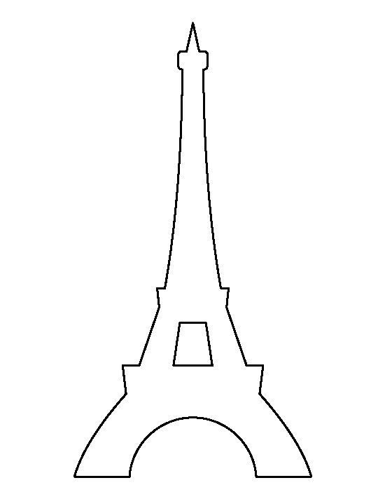 how to draw tour eiffel