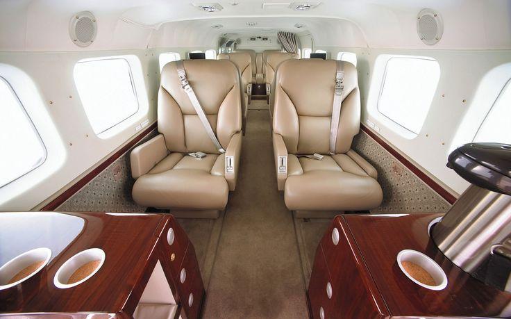 The Cessna Caravan Interior http://westpalmjetcharter.com/private-jets/turbo-prop/cessna-caravan-2/ #jetcharter #privatejet #luxurytravel #travel