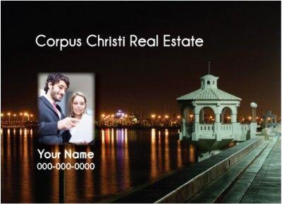 Texas - Corpus Christi Realtor Postcard  http://postcardspromo.com