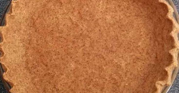 Hazelnut Pie Crust (paleo)