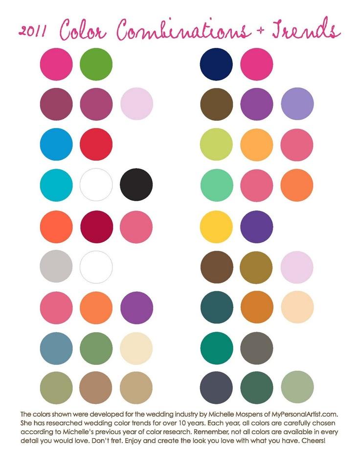 Trendy Colour Combination Chart Google Search Color