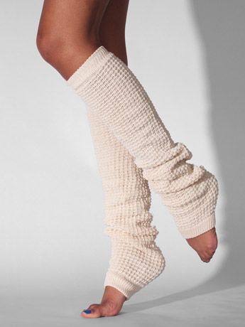 An alternative to my knee-high sock obsession...