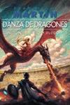 Daenerys Targaryen intenta mitigar el rastro de sangre y fuego que dejó en las Ciudades Libres al erradicar la esclavitud en Meereen. Mientras, un enano parricida, un príncipe de incógnito, un capitán implacable y un enigmático caballero acuden a la llamada de los dragones desde el otro lado del mar Angosto, ajenos al peligro que se cierne sobre el Norte, y que solo las menguadas huestes de uno de los reyes en discordia y la Guardia de la Noche se aprestan a afrontar.
