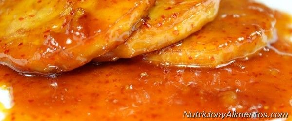 Salsa de naranja picante y dulce