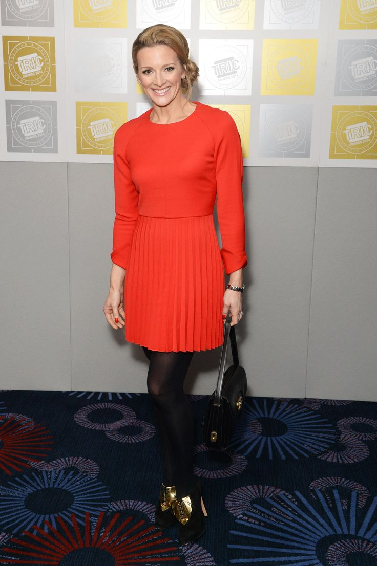 Gabby Logan – TRIC awards 2014 at the Grosvenor House Hotel in London 11.03.14